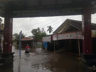 Hujan Seharian Mengakibatkan Medan Utara Banjir