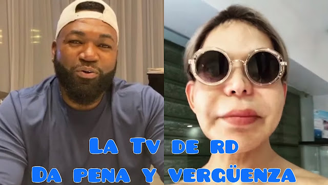 Mia Cepeda se Come con Yuca a David Ortiz
