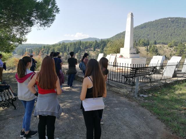 Ιστορικός περίπατος από την ΚΝΕ Τρίπολης σε τόπους θυσίας και μαρτυρίου