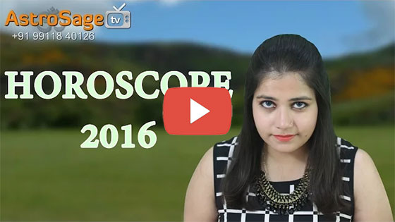 Horoscope 2016 is here by the expert Vedic Astrologers of AstroSage.