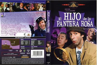 Carátula dvd: El hijo de la pantera rosa 1993