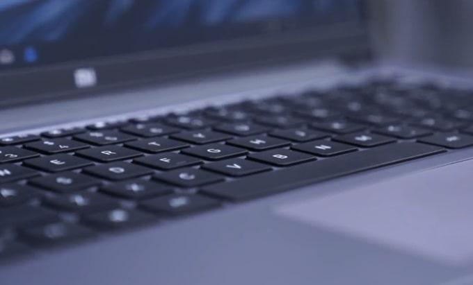 Mi Notebook 14 horizon keyboard has no backlit.