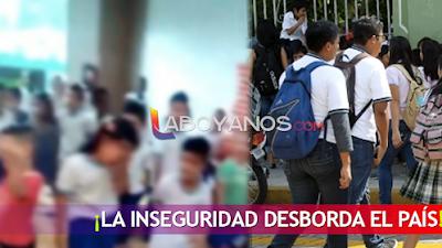 ¡Insólito! Secuestraron y atacaron a un grupo de estudiantes de un colegio en Bogotá