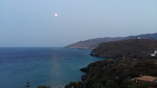 Θέα της θάλασσας από Στενιές