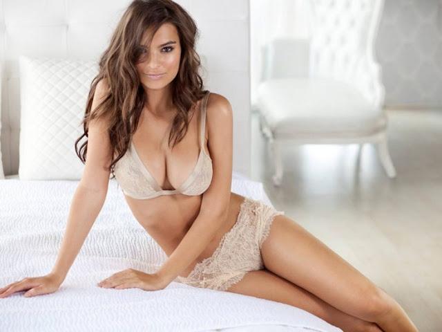 Emily Ratajkowski de 25 años. Una de las modelos mas sexys