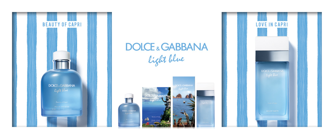 Dolce & Gabbana Light Blue Beauty of Capri e Love in Capri