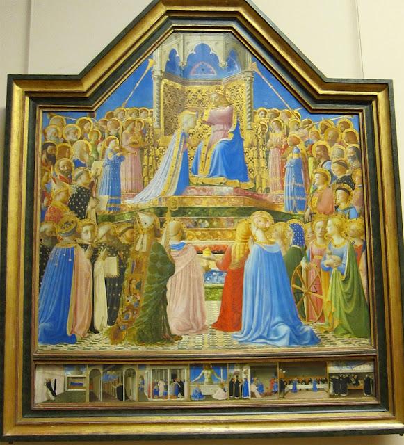 Resultado de imagen de Fra Angelico, LOuvre