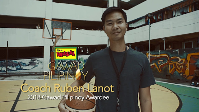 Coach Ruben Lanot honored as Mang Inasal's 2018 Gawad Pilipinoy awardee