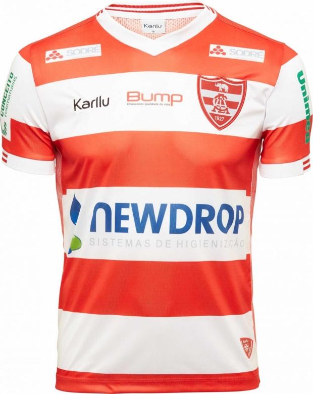 8ebc32d10 Karilu divulga as novas camisas do Linense. A fabricante de material  esportivo ...