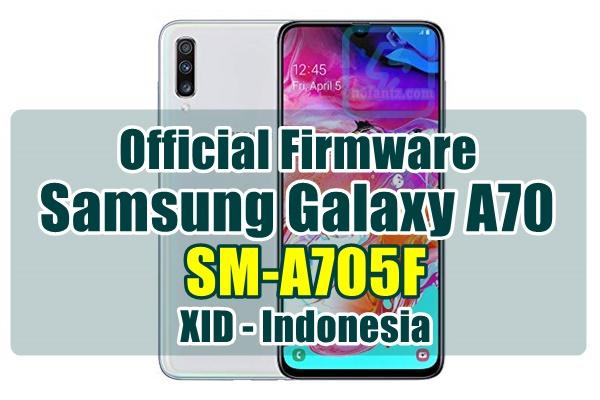 Firmware Samsung Galaxy A70 SM-A705F bahasa indonesia