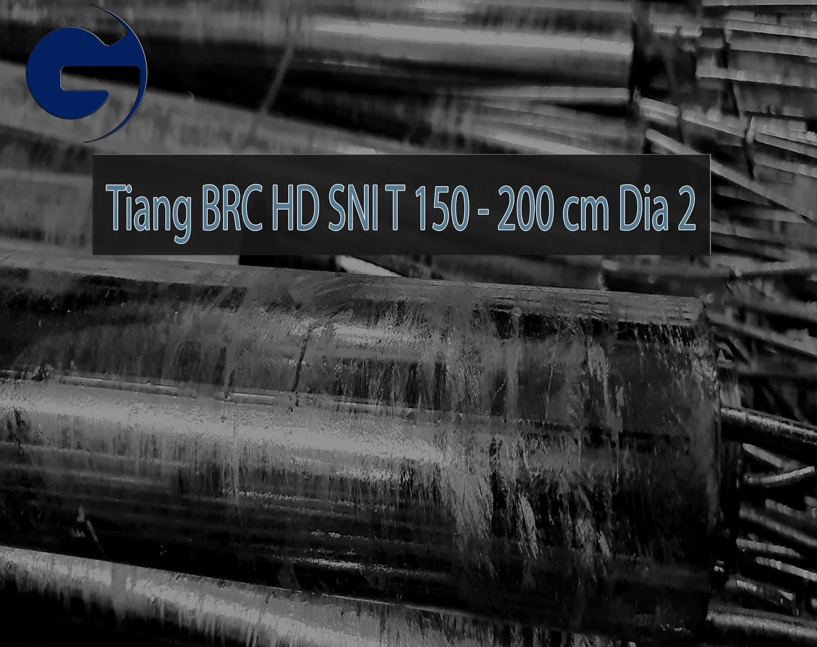 Jual Tiang BRC HDG SNI T 200 CM Dia 2 Inch