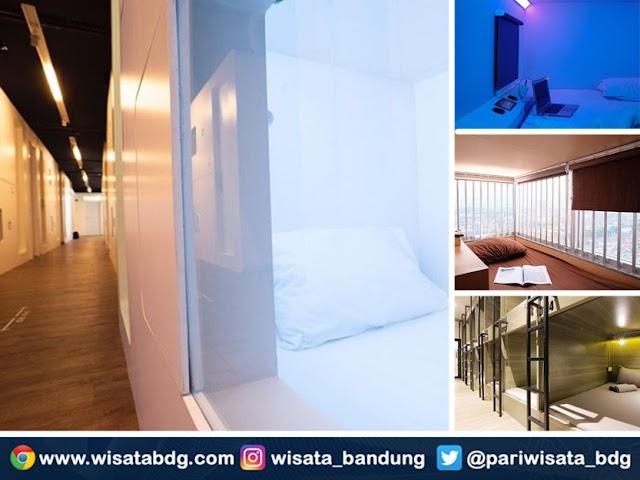Ini Hotel Kapsul di Bandung yang Lagi Jadi Favorit Wisatawan