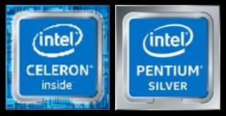 Spesifikasi Processor Intel Pentium Silver dan Intel Celeron