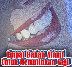 Mudah, Murah dan Aman, Gunakan Empat Bahan Alami Ini Untuk Memutihkan Gigi