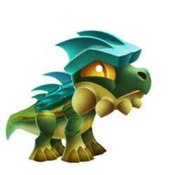 Heavy Armored Dragon (Baby)