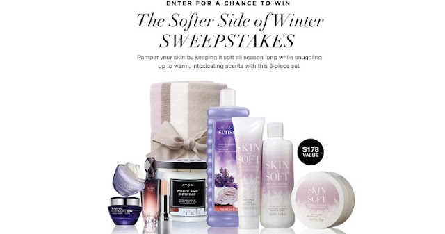 Avon Softer Side Of Winter Sweepstakes