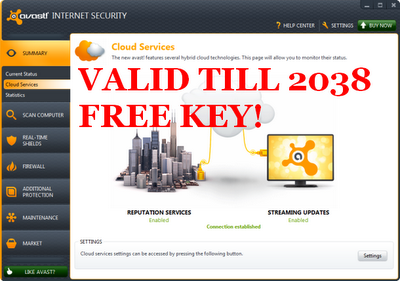 avast mobile security key