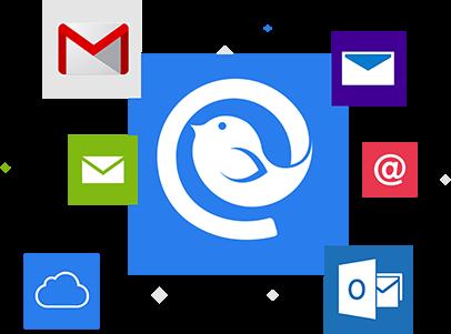 الحصول على حسابات البريد الإلكتروني غير محدودة، وميزات متقدمة وأكثر من ذلك getmailbird.