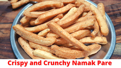 Namak Pare Recipe Crispy and Crunchy  Namak Para नमक पारे बनाने की विधि  Celebrate Diwali #WithMe