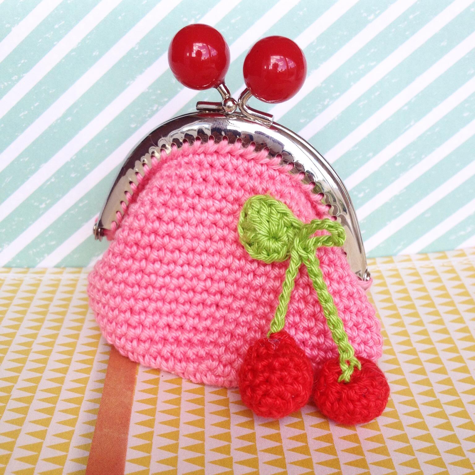 Ak At Home Crochet Portemonnee