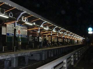 鎌倉高校前駅イルミネーション