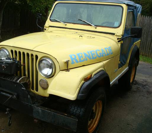 1977 CJ5 Levi Edition Renegade Jeep 304 For Sale $4,500 ...