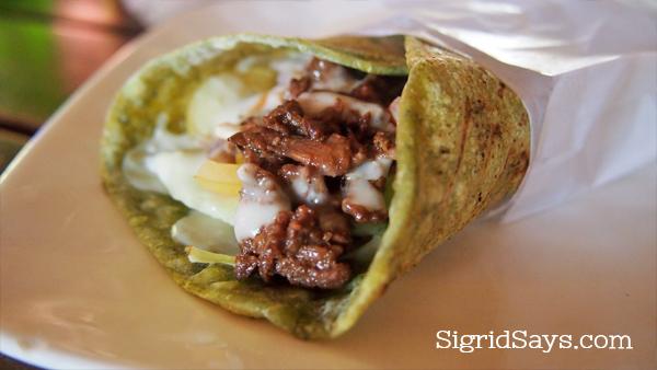 Spice Kitchen malunggay shawarma