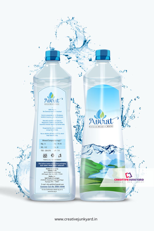 water-bottle-label-design