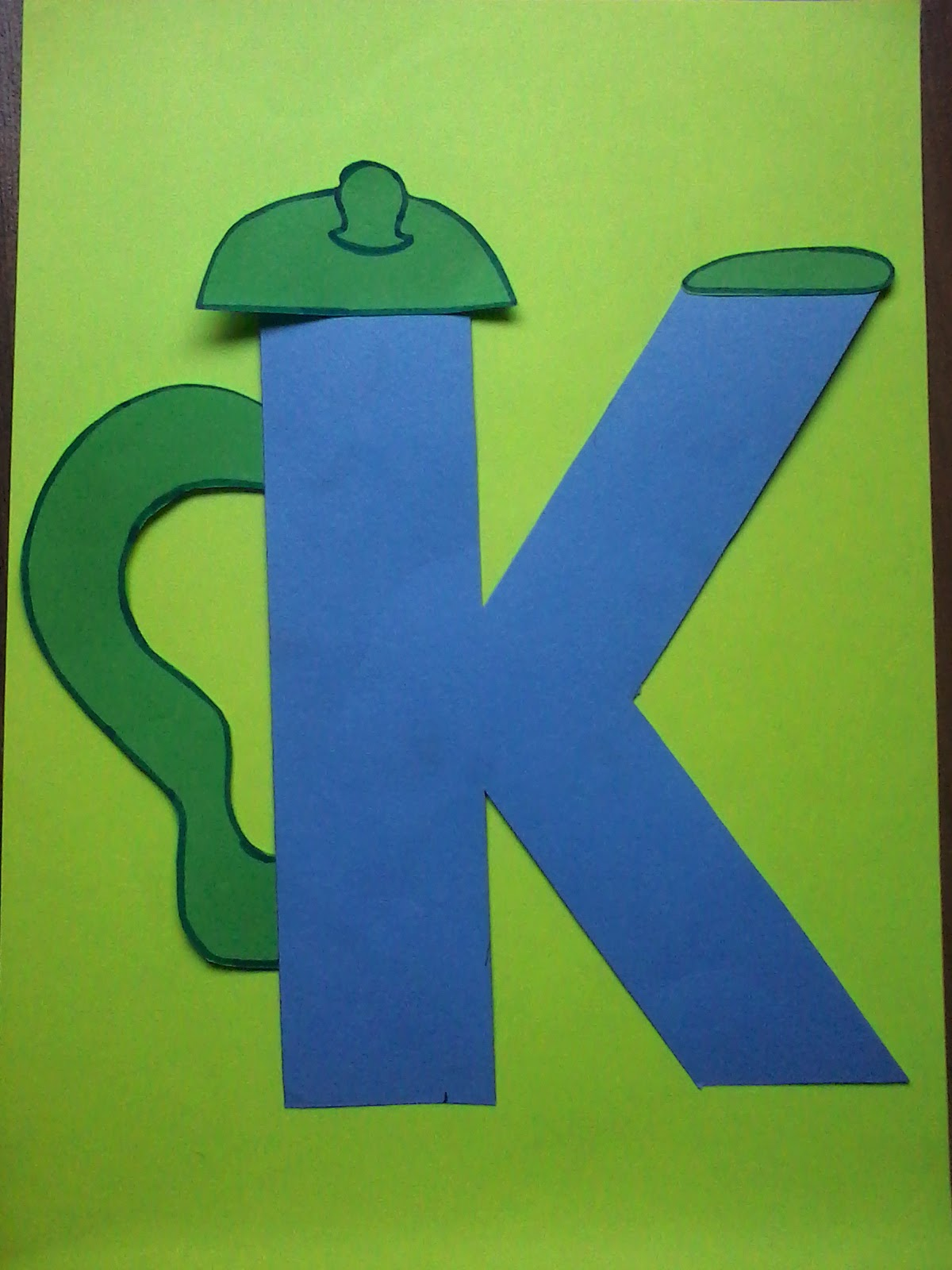 Crafts K L Pre Letter