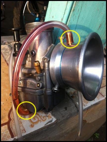 Modifikasi Karburator PE28 Power Jet dan Two Vent Serasa Sudco