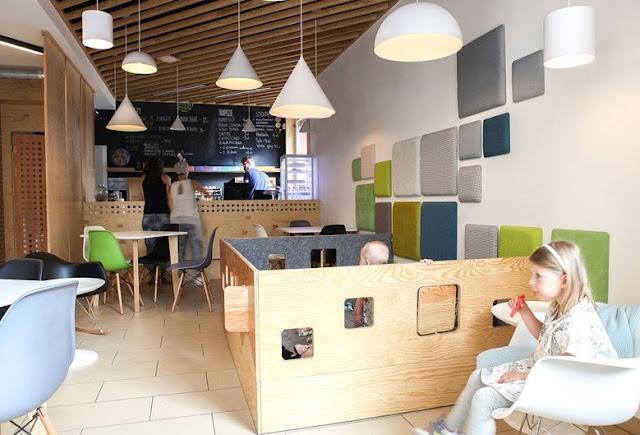 desain interior cafe terbaik