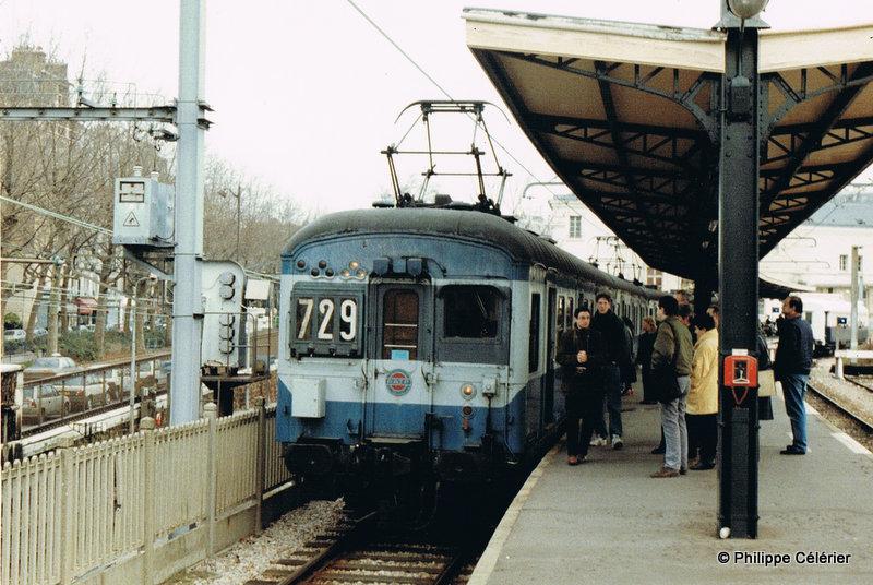 Les Tramways,Métro,RER,Bus de la RATP: RER B