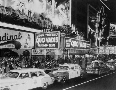 Estreno Quo Vadis, 1951