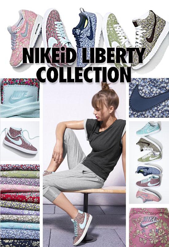 Nike iD Liberty London sneakers