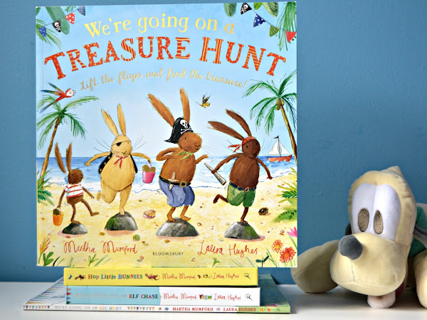 We're Going On A Treasure Hunt | Review and Giveaway