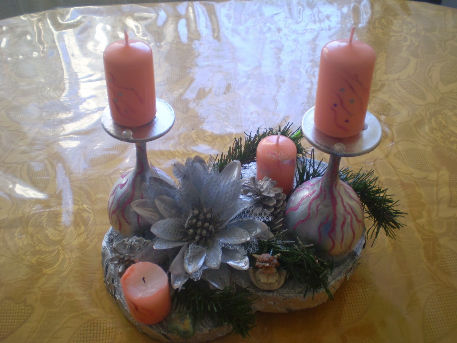 a little place to call my own diy advent wreath. Black Bedroom Furniture Sets. Home Design Ideas