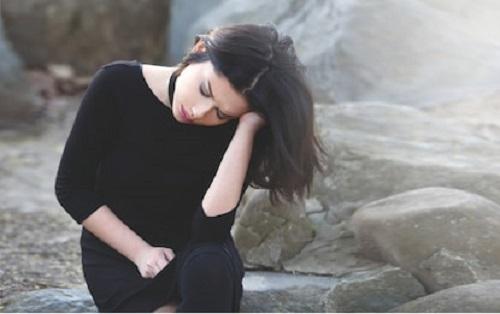 new stylish sad girl pic