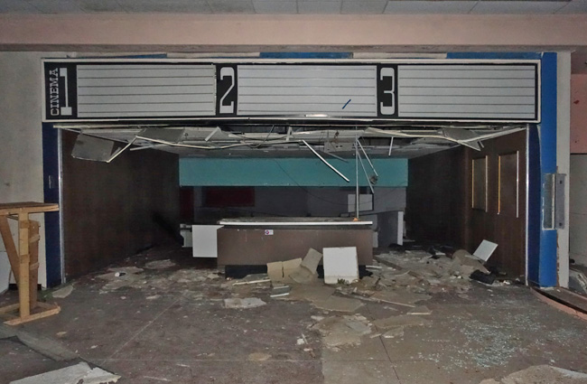 Abandoned Rolling Acres Dead Mall in Akron Ohio