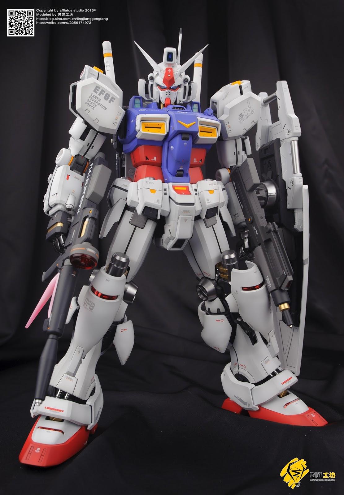 GUNDAM GUY: PG 1/60 RX78-GP01 Gundam GP01 - Customized