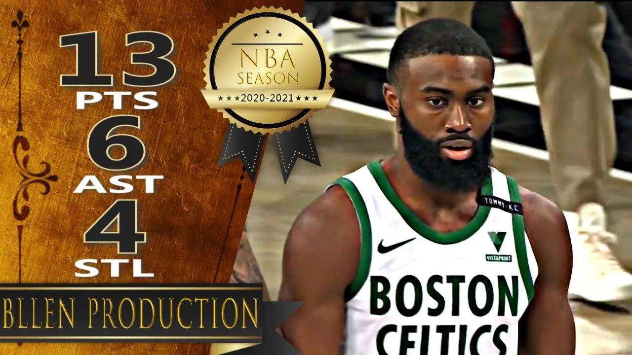 Jaylen Brown 13pts 5reb 6ast vs BRK | March 11, 2021 | 2020-21 NBA Season