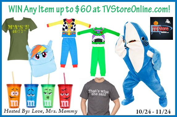 TV Store Online $60 Gift Card Giveaway!