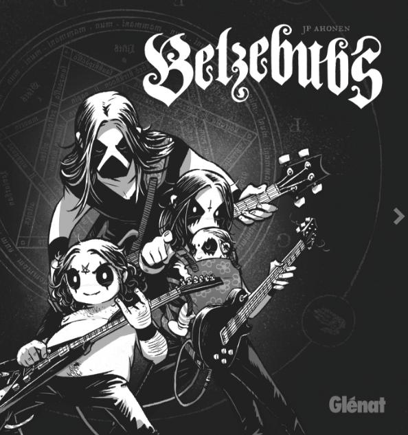 Belzenubs bande dessinée JP Ahonen éditions Glénat