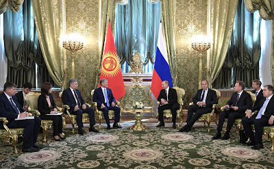 Russian-Kyrgyzstani talks in restricted format.