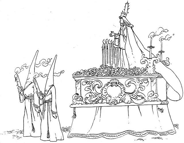 Dibujos Para Colorear Para Ninos De Semana Santa: EL RINCÓN DE LOS PEQUES: SEMANA SANTA PARA COLOREAR