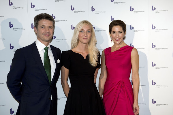 Kronprins Frederik and Kronprinsesse Mary´s Kronprinsparrets Priser 2014. Crown Prince Frederik and Crown Princess Mary