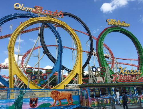 rollercoaster prater themepark wien