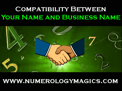 numerology compatibility between name and business name