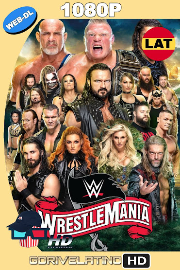 WWE WrestleMania 36 (2020) WEB-DL 1080p Latino-Ingles MKV