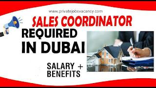 Requirement Sales Coordinator Jobs Vacancy in Build Care Maintenance Services LLC Location Dubai