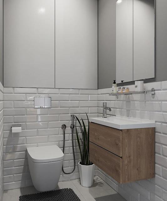 Thiết kế và thi công hoàn thiện nội thất căn hộ chung cư Sunshine City Quận 7 - Restroom